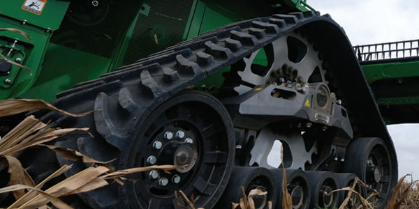 TRACK SYSTEMS FOR COMBINE HARVESTERS