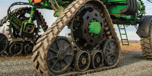 TRACK SYSTEMS FOR SELF-PROPELLED SPRAYERS
