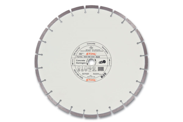 Stihl B20 Diamond Wheel - Quality Grade » Polen Implement, Ohio